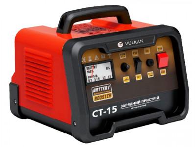 Зарядное устройство Vulkan СТ15: Преимущества, особенности.