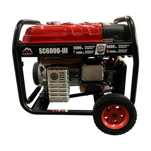 Генератор газобензиновый Vulkan SC6000-III (SC6000-III)