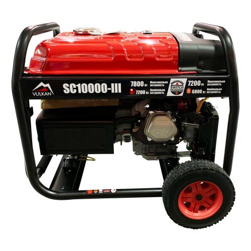 Генератор газобензиновый Vulkan SC10000-III (SC10000-III)