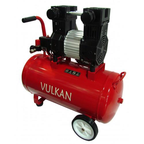 Поршневой компрессор для покраски безмасляный 50 л VULKAN IBL 50 LOS