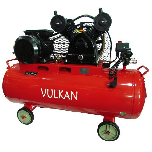 Поршневой компрессор для покраски масляный 100 л Vulkan IBL 2070E-220-100