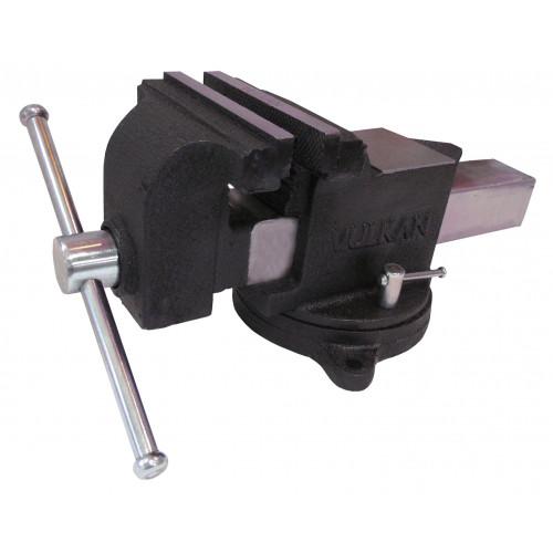 Тиски Vulkan MPV1-125 слесарные поворотные 125 мм