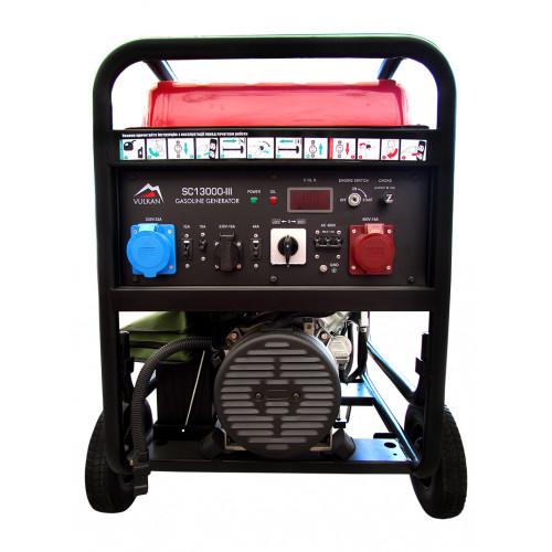 Генератор бензиновый Vulkan SC13000-III (34207)