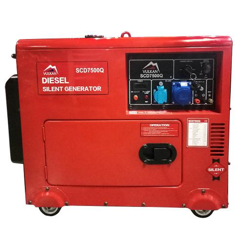 Генератор дизельный Vulkan SC7500Q (SC7500Q)