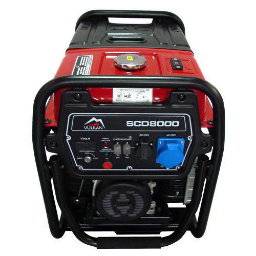 Генератор дизельный Vulkan SCD8000 (SCD8000)