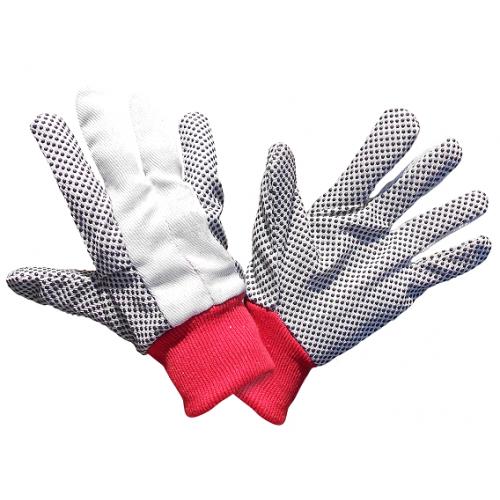 Перчатки ХБ Vulkan с ПВХ точками
