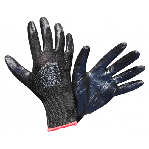 Перчатки защитные Vulkan SFG20006 Вампир, черные