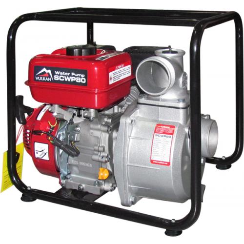 Мотопомпа бензиновая Vulkan SCWP80 для чистой воды