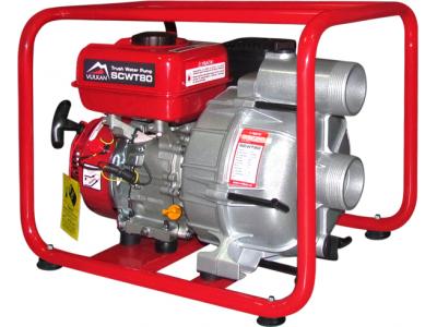 Мотопомпа для грязной воды Vulkan SCWT80 - эффективная работа без переплат