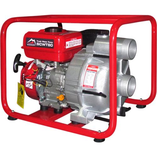 Мотопомпа бензиновая Vulkan SCWT80 для грязной воды