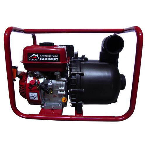 Мотопомпа бензиновая Vulkan SCCP80 для химикатов