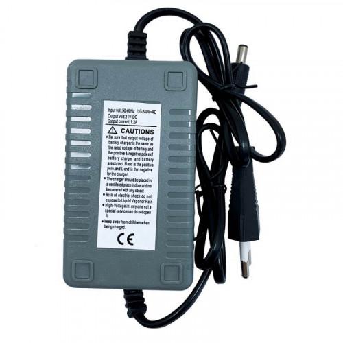 Зарядное устройство 21 В 1,2 А  для опрыскивателей Vulkan (UCh.12V\1,2A)