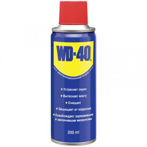 Универсальная смазка-спрей WD-40, 200 мл