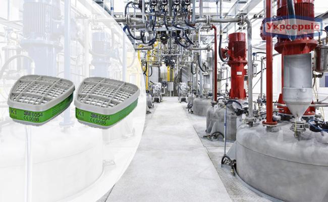 Купить недорого фильтр 3M 6054 для защиты дыхания