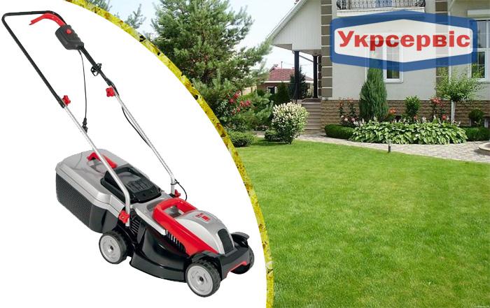 Купить недорогую сетевую газонокосилку AL-KO BIO 4.67 P-B для газона