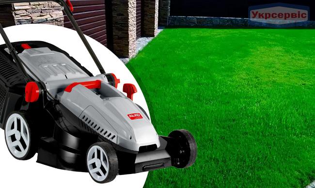 Купить недорогую сетевую газонокосилку AL-KO Classic 4.27 E Plus для газона