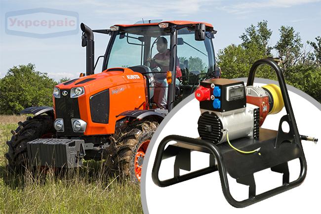 Купить недорогой тракторный генератор AGROVOLT AV18