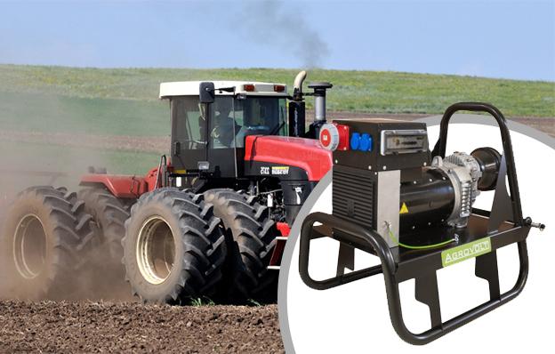 Купить недорогой тракторный генератор AGROVOLT AV27