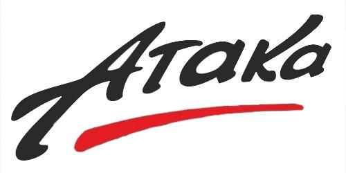 Официальный логотип компании Атака
