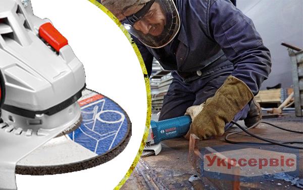 Купить дешево болгарку Bosch GWS 17-125 CIE в Украине