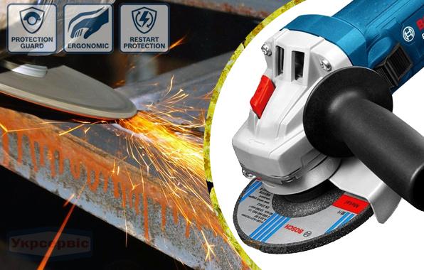 Купить дешево болгарку Bosch GWS 750-125 мм в Украине