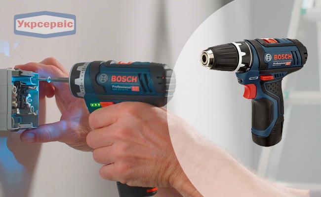 Купить недорого аккумуляторный шуруповерт BOSCH GSR 12V-15 Professional