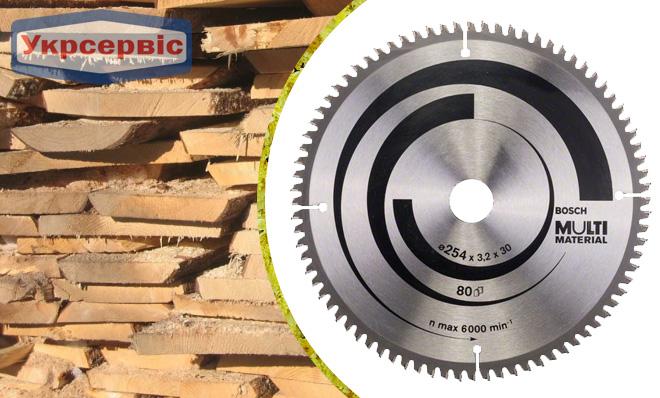 Купить недорогой пильный диск Bosch Multi Material 254х30 мм Z80