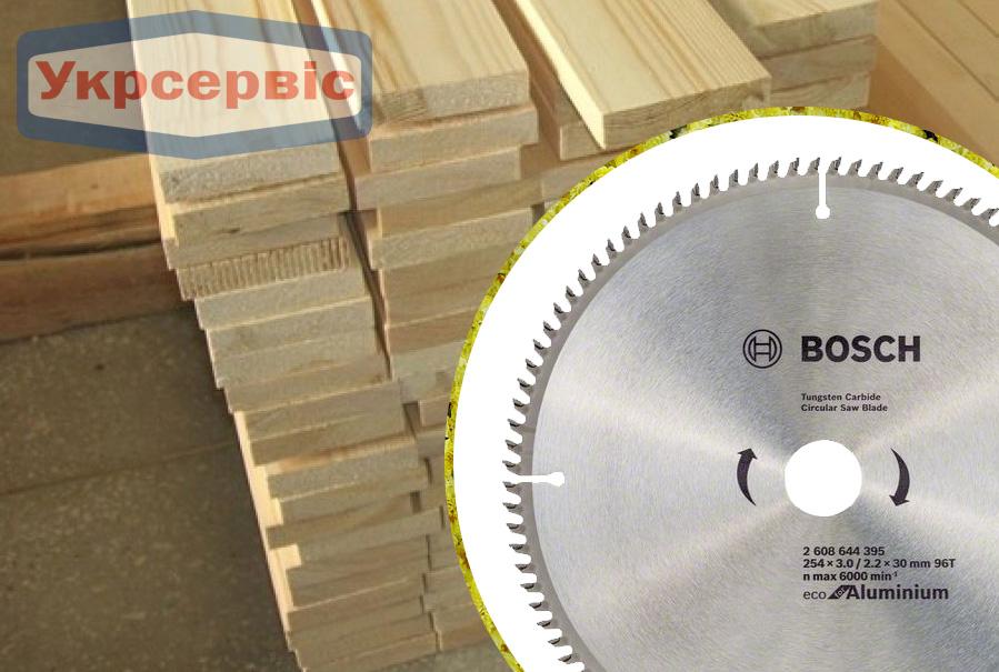 Купить недорогой пильный диск Bosch Eco for Aluminium 254х30мм Z96