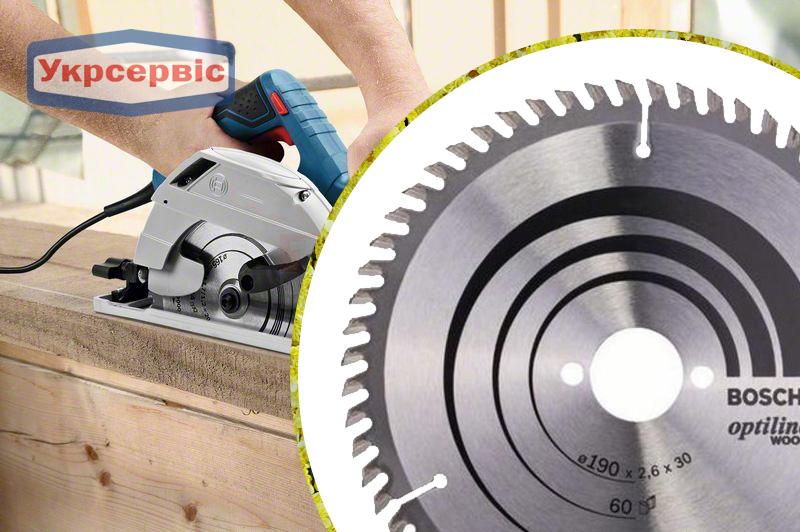Купить недорогой пильный диск Bosch Optiline Wood 190x30 мм Z60