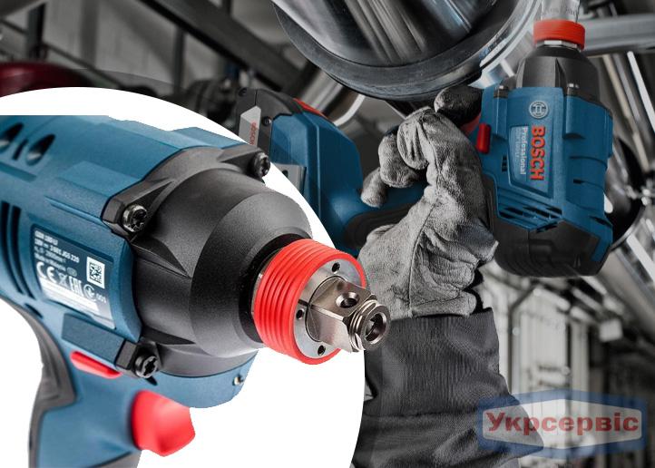 Купить недорого гайковерт Bosch GDX 180-LI Professional в Украине