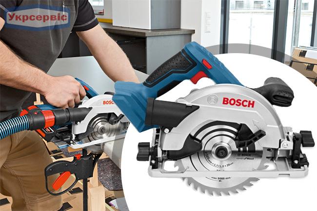 Купить ручную дисковую пилу Bosch GKS 18V-57 G Professional