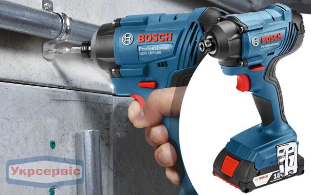 Купить недорого гайковерт BOSCH GDR 180-LI Professional в Украине