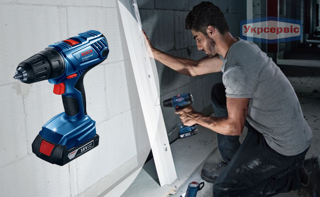 Купити недорогий електричний шурупокрут BOSCH GSR 180-LI Professional для дому