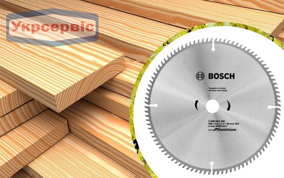 Купить недорогой пильный диск Bosch Eco for Aluminium 305х30 мм Z96