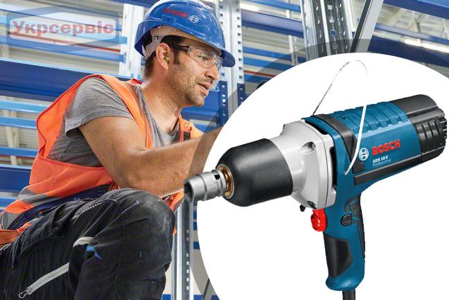 Купить недорого гайковерт BOSCH GDS 18 E Professional в Украине