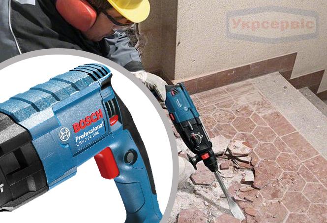 Купить дешево перфоратор BOSCH GBH 240 Professional для работы