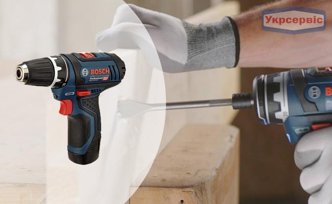 Купить недорогой электрический шуруповерт BOSCH GSR 12V-15 Professional для дома