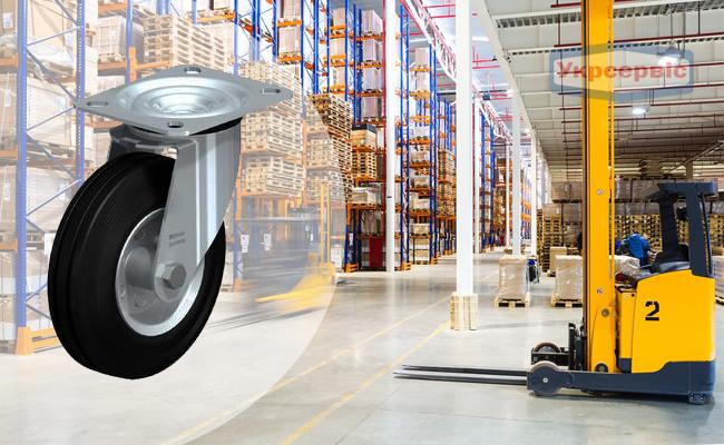 Купить недорого колесо для роклы Blickle LE-VE 125R