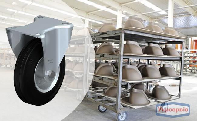 Купить недорого колесо для роклы Blickle B-VE 160R