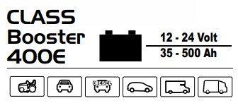Технические характеристики Deca Class Booster 400E