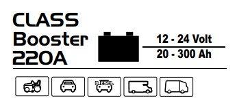 Технические характеристики Deca CLASS BOOSTER 220 A