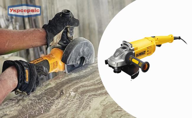 Купить дешево болгарку DeWalt DWE492 в Украине