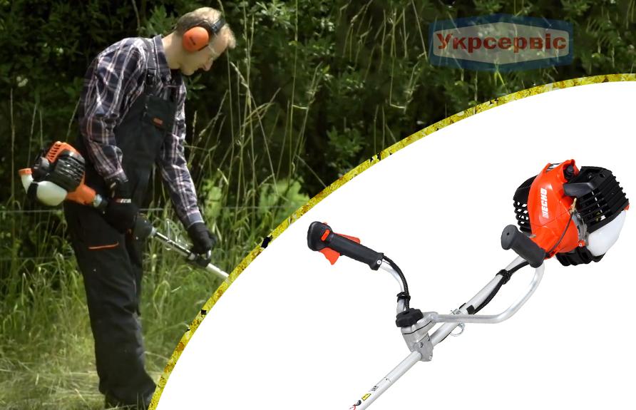 Купить выгодно садовую бензиновую мотокосу для травы ECHO SRM-3020TES/U