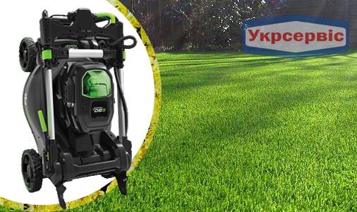 Купить недорого аккумуляторную газонокосилку для сада ЭГО LM2024E-SP