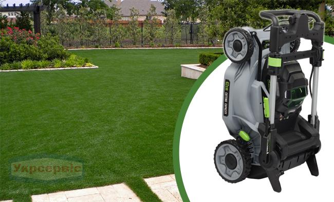 Купить недорогую электрическую газонокосилку для травы ЭГО LM1701E
