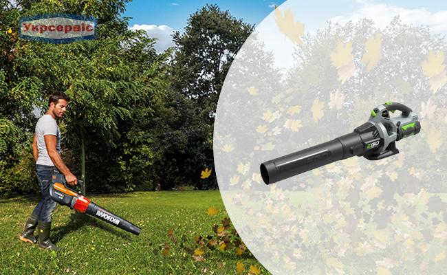 Купити акумуляторну повітродувку для будинку EGO LB5300E