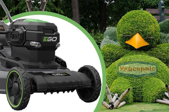 Купить недорогую электрическую газонокосилку для травы ЭГО LM2011E
