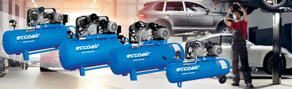 Купить недорого воздушные компрессоры Eccoair
