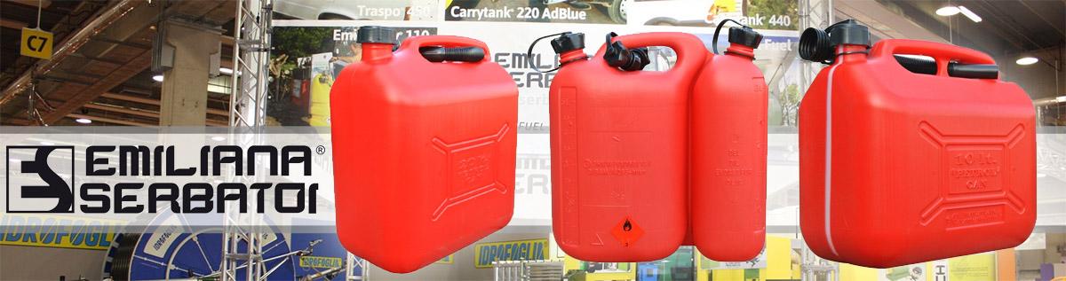 Купить недорогую емкость для хранения бензина и дизельного топлива Emiliana Serbatoi