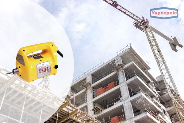 Купить недорого глубинный вибратор для уплотнения бетона Enar AVMU